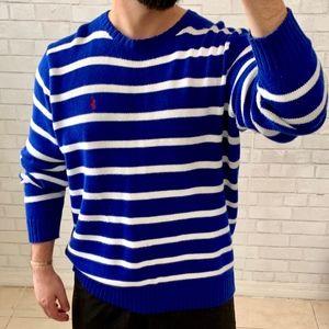 Polo Ralph Lauren Blue Sweater Crewneck Sweater XL